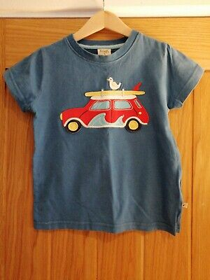 Boys 3-4 Frugi Top Organic Cotton Great condition Christmas Gift