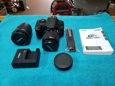 Canon EOS Rebel T7 With Extra Lens fully tested