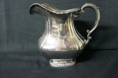 Gorham Silver Shell & Gadroon Pitcher Y1124,  4 3/4 Pints