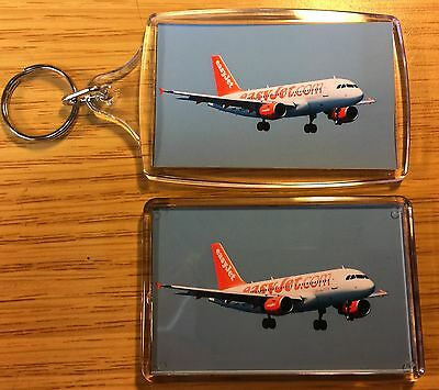 Boeing 747  Key Ring /& Fridge Magnet Set