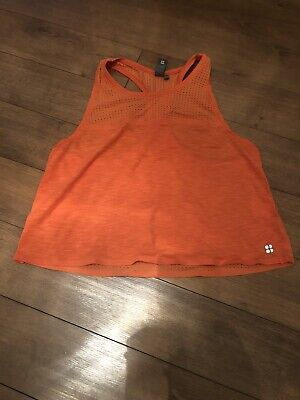 Sweaty Betty Breeze Crop Vest Size Small Perfect Condition