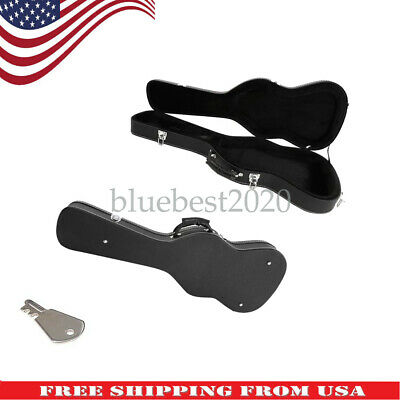 Electric Guitar Hard Case for Stratocaster & Telecaster Style Wooden Hard Shell