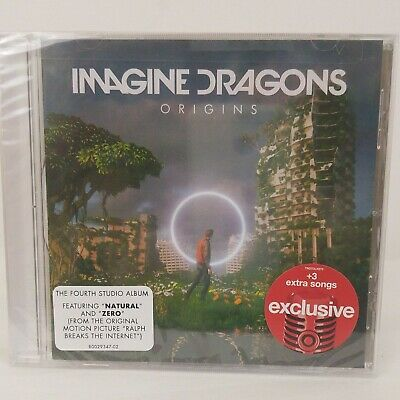 Imagine Dragons Origins - NEW CD 2018 Target Exclusive 3 Extra Songs