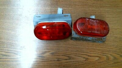 134-15  Oblong Clearance//Side Marker Replacement Lens X2