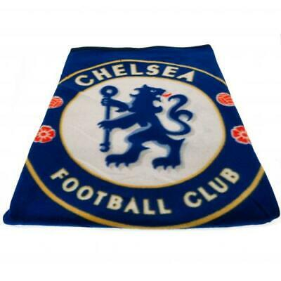 Chelsea FC Official Crested Fade Fleece Blanket Throw The Blues Gift Present