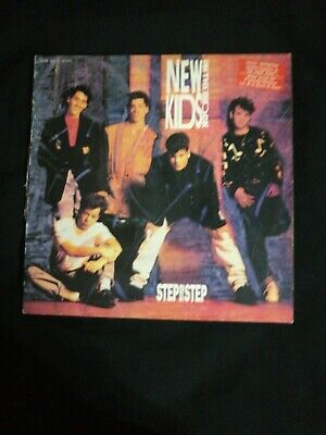"""New Kids On The Block – Step By Step 12""""  maxi-single vinilo"""