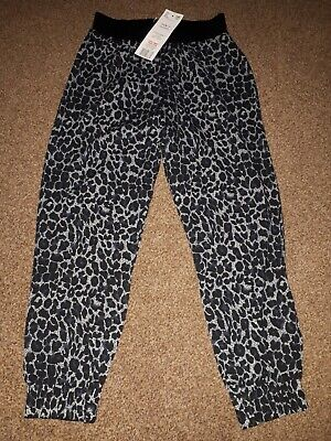 Girls Leopard Print Hareem Style Trousers, Age 6-7