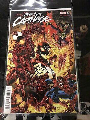 Absolute Carnage #5 (2019) 1:25 Cult Of Carnage Mark Bagley Variant Donny Cates