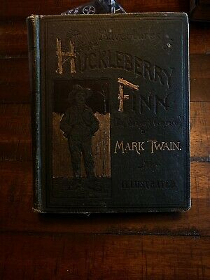 True 1st Edition Early State ADVENTURES OF HUCKLEBERRY FINN 1885 Mark Twain