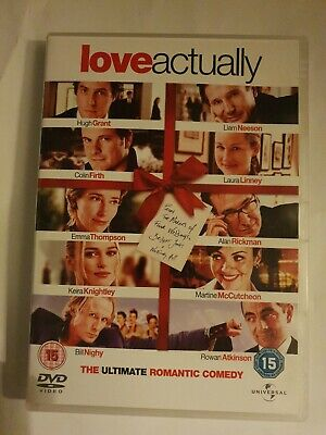 Love Actually (DVD, 2004) FREE POSTAGE