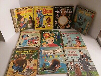 A Little & Giant Golden Book Collection (lot of 10)