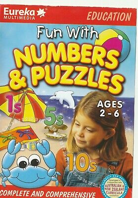 Kids Pc Game - Fun With Numbers & Puzzles - Ages 2 to 6