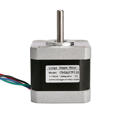 1PC Nema17 Stepper Motor 4leads, 1.7A, 40N.cm Min 17HS4417P1-X4 3D printer CNC