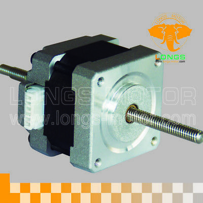 1PC Nema16 Linear Stepper Motor 30oz.in=0.21N.m 12V motor length 34mm CNC Kit