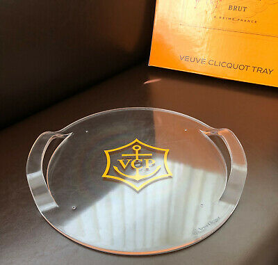Veuve Clicquot Champagne New Style Tray Brand New In Box 35 Cms