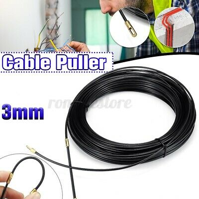 50 Ft FISH TAPE Push Pull  Wire Cable Puller Electrician DIY  Amtech S4190