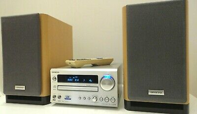 Onkyo CR-515UK DAB HiFi  Amp CD Tuner + Onkyo D-N9BX Speaker System with boxes