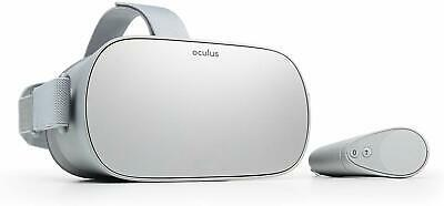 Oculus Go Standalone Virtual Reality VR Headset and Controller Set 64GB - Silver