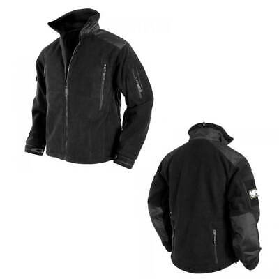MFH Herren Fleecejacke ''Heavy Strike'' Tactical Jacke Fleece Outdoor Schwarz