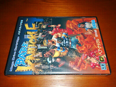 Bare knuckle  / STREET OF RAGE   Mega Drive Japan Game MD SEGA ...
