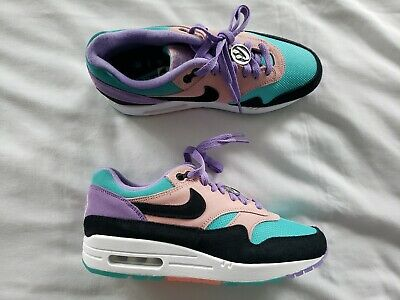 Details about Nike Air Max 1 ND Space Purple Black Have A Nike Day Men's Running BQ8929 500