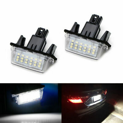 LED Number License Plate Light Assy For Toyota Camry Highlander Avalon Prius EZ