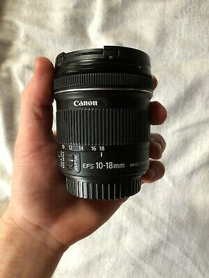 Canon EF-S 10-18mm F/4.5-5.6 IS STM - Image Stabilization causes lens to rattle.