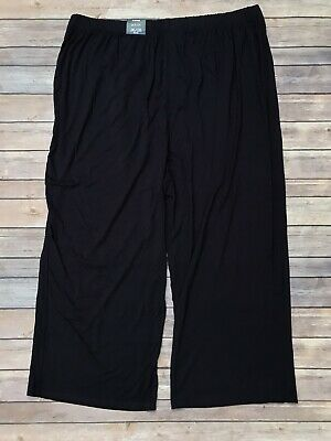 Avenue Plus Size 26 /28 Petite Navy Blue Stretch Pull On Pants NWT
