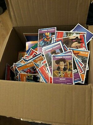 Box of Disney Pixar Star Wars Marvel Heroes Cards from Sainsbury's  Free Post