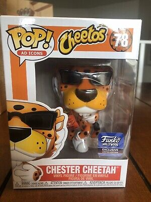Funko Pop! Ad Icons Cheetos Chester Cheetah Sunglasses Funko Hollywood Exclusive