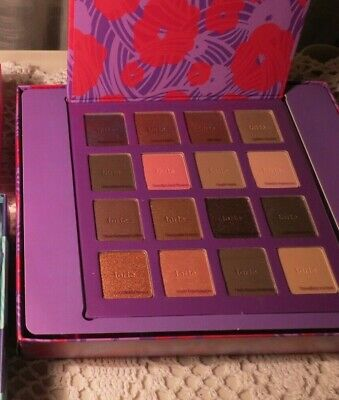 Tarte High Performance Naturals- Eyeshadow Palette- 16 Colors- NIB