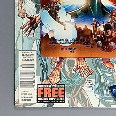 AMAZING SPIDER-MAN #693 Newsstand $3.99 Price Variant FN Print Run ~1%