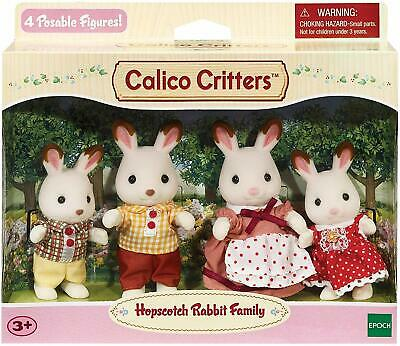 Calico Critters Hopscotch Rabbit Family Kids Gift Toy Dolls Collectible Figures