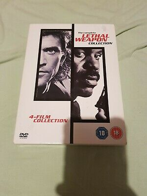 The Complete Lethal Weapon Collection (4 DVD)