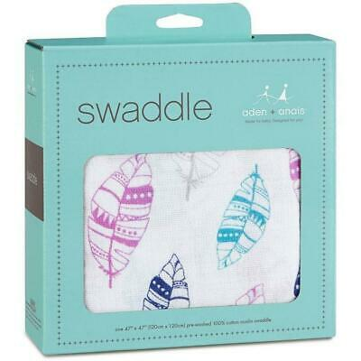 aden + anais silky soft cotton muslin swaddle one piece stunning design
