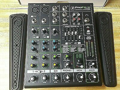 Mackie PROFX4V2 4 Channel Mixer with Effects. UNTESTED.