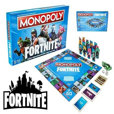 Monopoly: Fortnite Edition Board Game [Board Game] BEST Gift