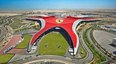 Ferrari world Entertainer Abu dhabi 2020 application voucher