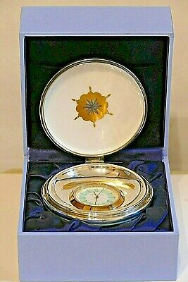 WEDGWOOD HIDDEN TREASURES ~ The Greenwich Clock ~ Silver Fitment ~ Box & Leaflet