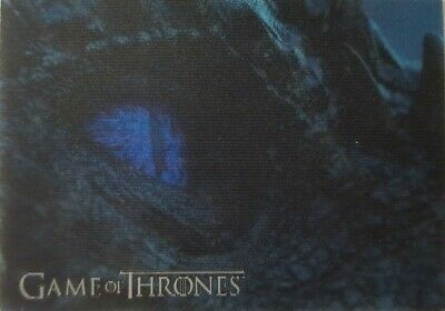 2019 RITTENHOUSE GAME OF THRONES INFLEXIONS Lenticular Motion Card L18 VISERION