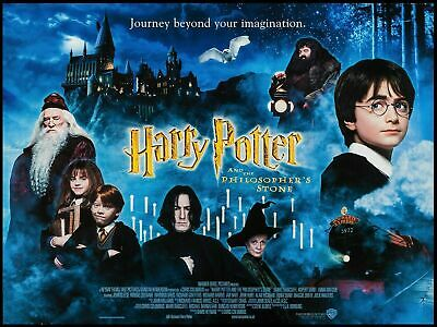 Harry Potter Movie Collage Glossy Wall Art Poster A1 A5