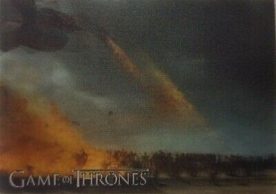 2019 RITTENHOUSE GAME OF THRONES INFLEXIONS Lenticular Motion Card L15 BY FIRE