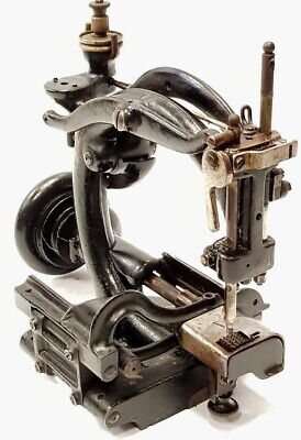 Antigua maquina de coser RARE Willcox & Gibbs hat antique sewing machine type200