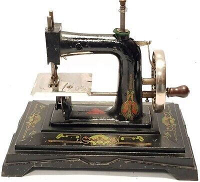 antigua maquina de coser BABY de viaje Antique Sewing Machine 1930