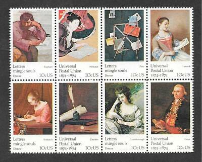 T&G STAMPS - 1530 - 1537 Universal Postal Union MNH Set of 8 (Free Ship Offer)