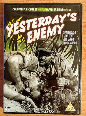 Yesterday's Enemy (DVD, 2010), Stanley Baker, Val Guest, New & Sealed