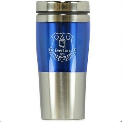 Official Everton Football Club Stainless Steel Travel Mug Thermal/flask/cup