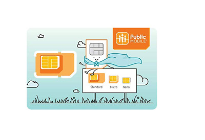 Public Mobile $10 Ref.credit for New SIM Activations