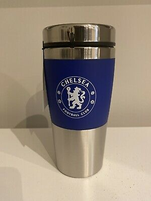 Official Chelsea  Football Club Stainless Steel Travel Mug Thermal/flask/cup