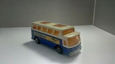 Matchbox Superfast No 65 Airport Coach Made in England 1977 Lesney Products & CO